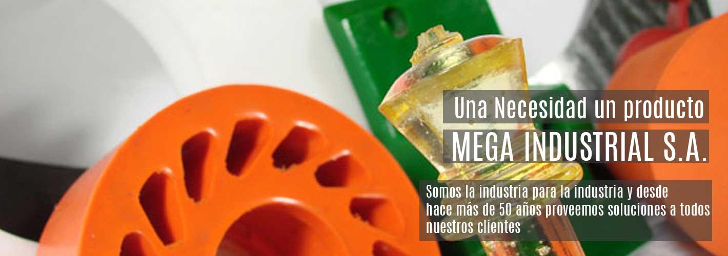 Mega Industrial, Fabricante de piezas de goma y caucho a medida